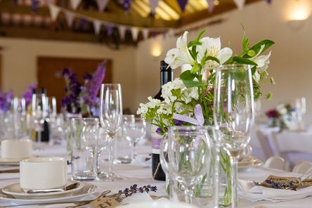 WEDDINGS AT TREGEDNA LODGE